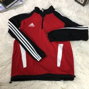 Unisex Adidas Climawarm 1/4 Zip Pull over Jacket